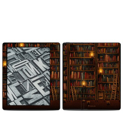 Amazon Kindle Oasis Skin - Library