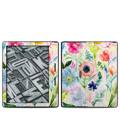 Amazon Kindle Oasis Skin - Loose Flowers