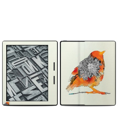 Amazon Kindle Oasis Skin - Orange Bird