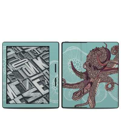 Amazon Kindle Oasis Skin - Octopus Bloom