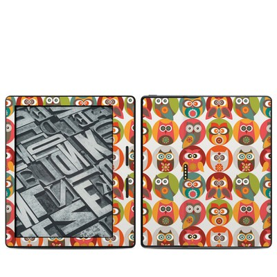 Amazon Kindle Oasis Skin - Owls Family