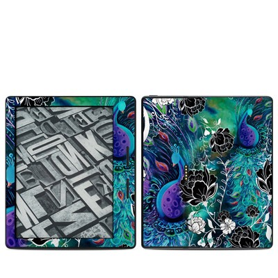 Amazon Kindle Oasis Skin - Peacock Garden