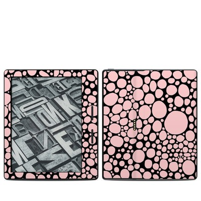 Amazon Kindle Oasis Skin - Pink Bubbles