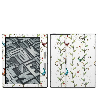 Amazon Kindle Oasis Skin - Royal Birds