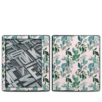 Amazon Kindle Oasis Skin - Sage Greenery