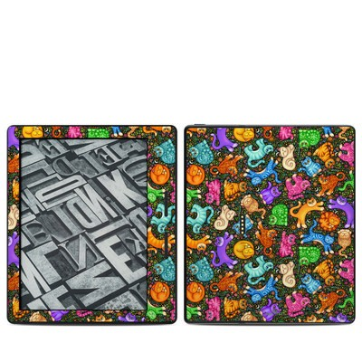 Amazon Kindle Oasis Skin - Sew Catty