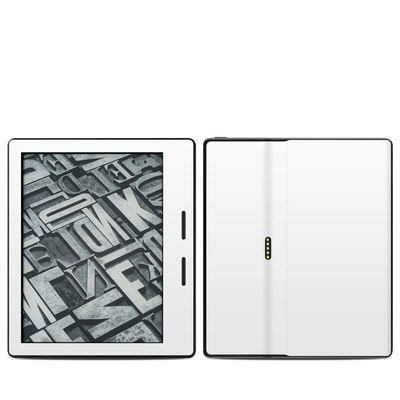 Amazon Kindle Oasis Skin - Solid State White