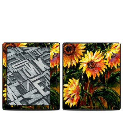 Amazon Kindle Oasis Skin - Sunflower Sunshine
