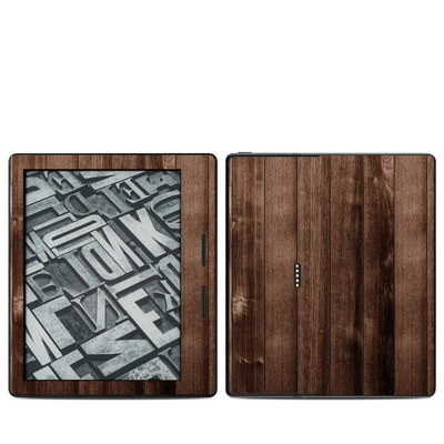 Amazon Kindle Oasis Skin - Stained Wood