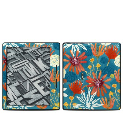 Amazon Kindle Oasis Skin - Sunbaked Blooms