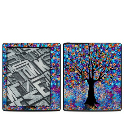 Amazon Kindle Oasis Skin - Tree Carnival