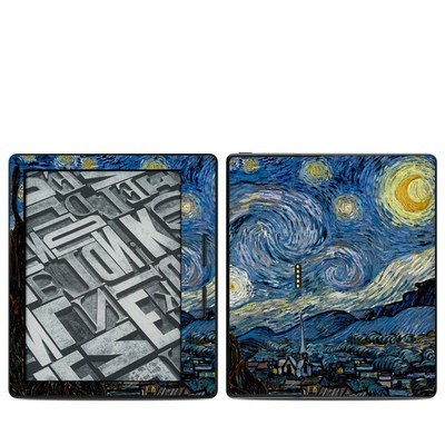 Amazon Kindle Oasis Skin - Starry Night