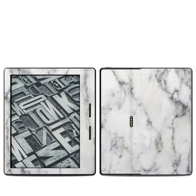 Amazon Kindle Oasis Skin - White Marble