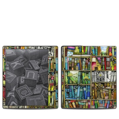 Amazon Kindle Oasis 2017 Skin - Bookshelf