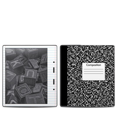 Amazon Kindle Oasis 2017 Skin - Composition Notebook