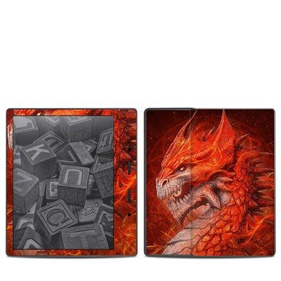 Amazon Kindle Oasis 2017 Skin - Flame Dragon