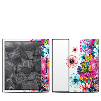 Amazon Kindle Oasis 2017 Skin - Intense Flowers