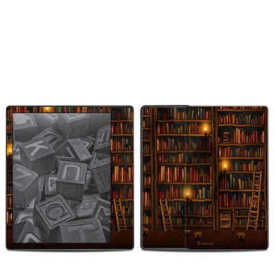 Amazon Kindle Oasis 2017 Skin - Library
