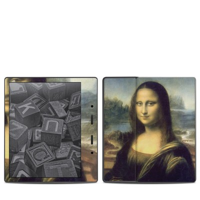 Amazon Kindle Oasis 2017 Skin - Mona Lisa