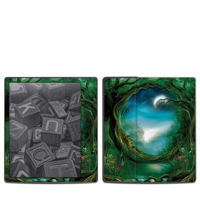 Amazon Kindle Oasis 2017 Skin - Moon Tree