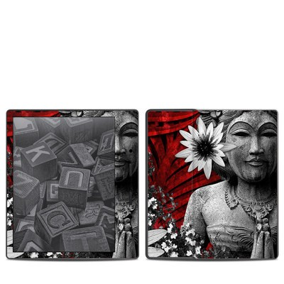 Amazon Kindle Oasis 2017 Skin - Red Island Radiance