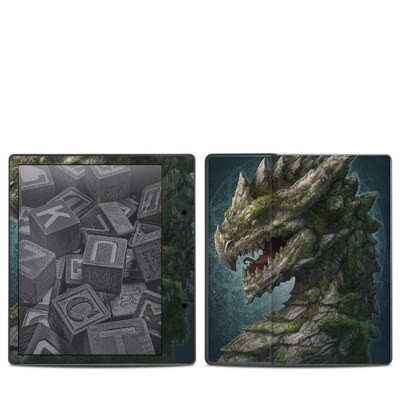 Amazon Kindle Oasis 2017 Skin - Stone Dragon