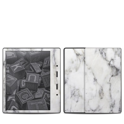 Amazon Kindle Oasis 2017 Skin - White Marble