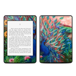 Amazon Kindle Paperwhite Skin - Coral Peacock