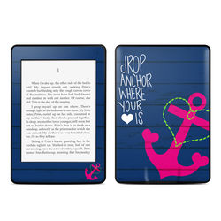 Amazon Kindle Paperwhite Skin - Drop Anchor