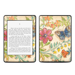 Amazon Kindle Paperwhite Skin - Garden Scroll
