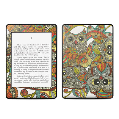 Amazon Kindle Paperwhite Skin - 4 owls