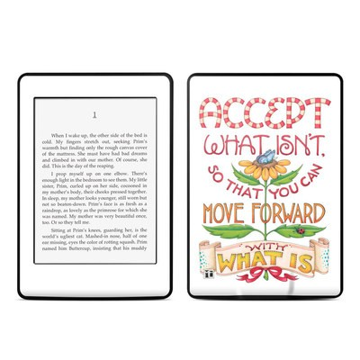 Amazon Kindle Paperwhite Skin - Accept What Isn't