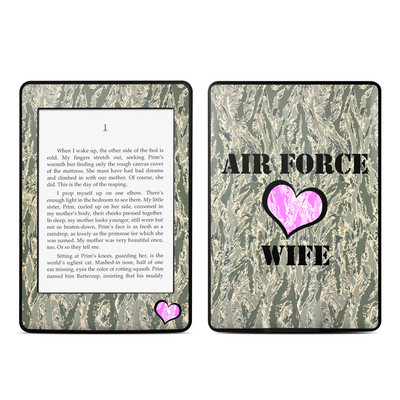 Amazon Kindle Paperwhite Skin - Air Force Wife