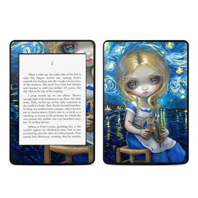 Amazon Kindle Paperwhite Skin - Alice in a Van Gogh