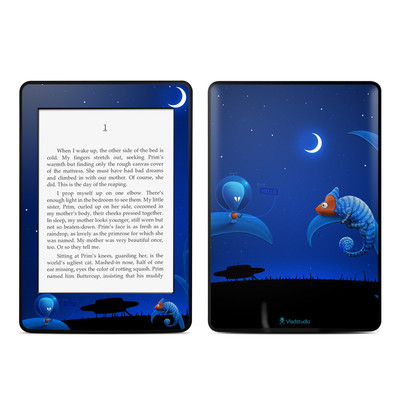 Amazon Kindle Paperwhite Skin - Alien and Chameleon