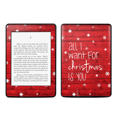 Amazon Kindle Paperwhite Skin - All I Want
