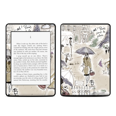 Amazon Kindle Paperwhite Skin - Ah Paris