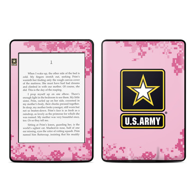 Amazon Kindle Paperwhite Skin - Army Pink