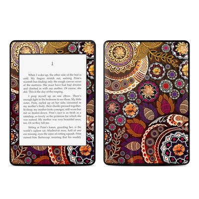 Amazon Kindle Paperwhite Skin - Autumn Mehndi