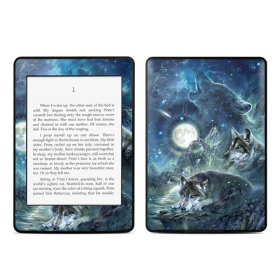 Amazon Kindle Paperwhite Skin - Bark At The Moon