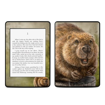 Amazon Kindle Paperwhite Skin - Beaver Totem