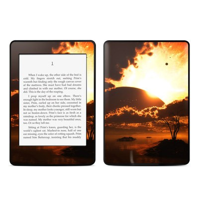 Amazon Kindle Paperwhite Skin - Beginning Of The End