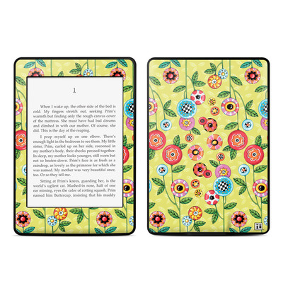 Amazon Kindle Paperwhite Skin - Button Flowers