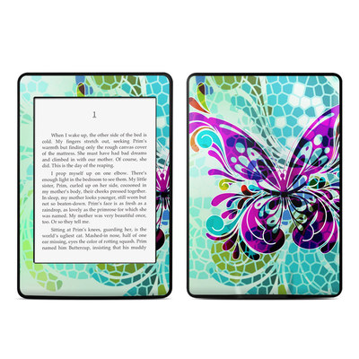 Amazon Kindle Paperwhite Skin - Butterfly Glass