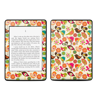 Amazon Kindle Paperwhite Skin - Bird Flowers