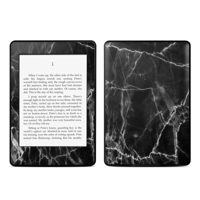 Amazon Kindle Paperwhite Skin - Black Marble