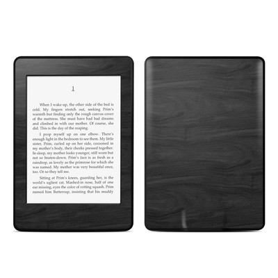 Amazon Kindle Paperwhite Skin - Black Woodgrain