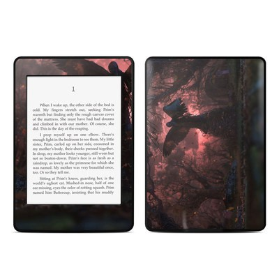 Amazon Kindle Paperwhite Skin - Black Angel