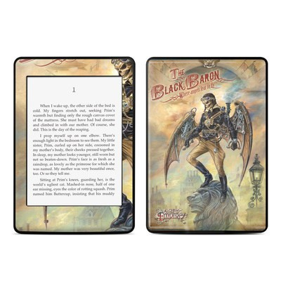 Amazon Kindle Paperwhite Skin - The Black Baron