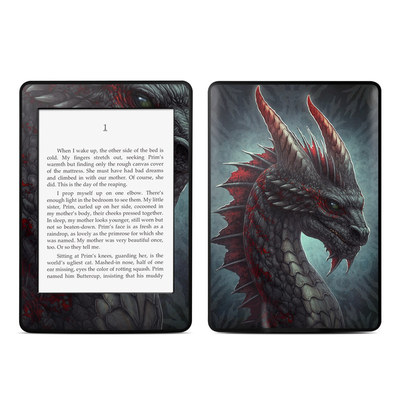 Amazon Kindle Paperwhite Skin - Black Dragon